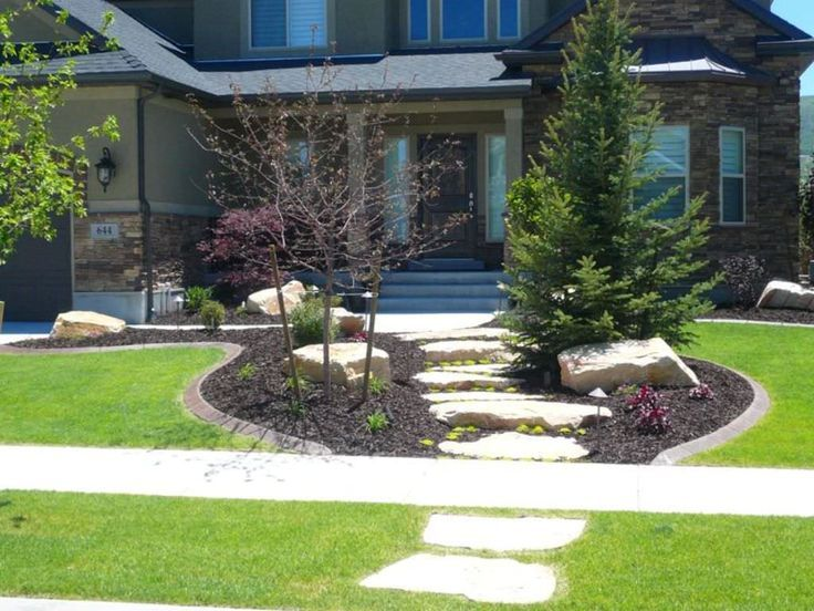Front Yard Landscape Ideas Pinterest