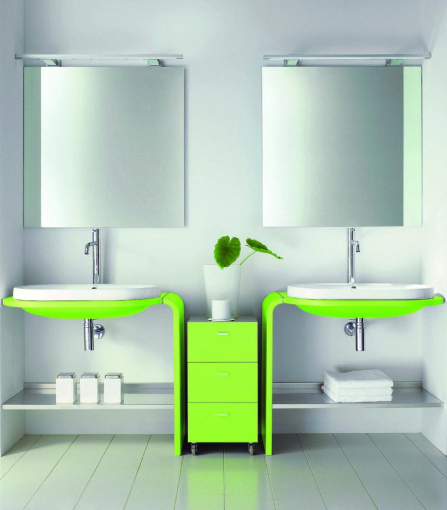 Lime Green Bathroom Ideas