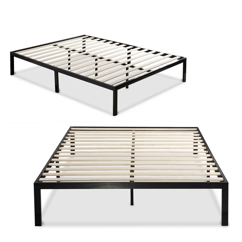 Metal Full Platform Bed Frame