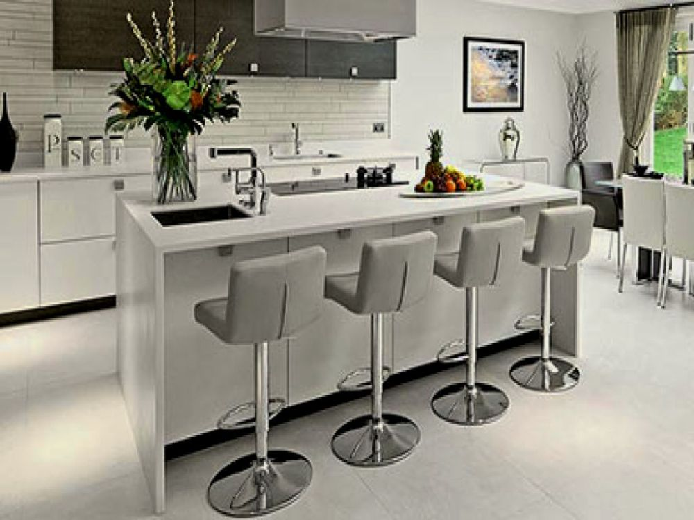 Bar Stools Grey