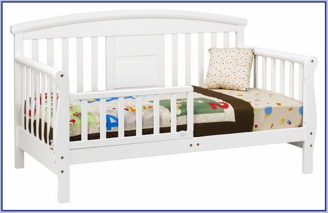 Davinci Sleigh Toddler Bed White