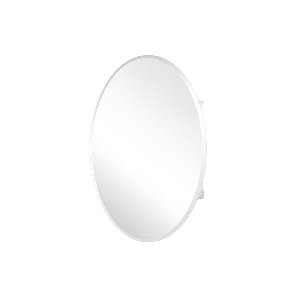 Pegasus Oval Mirror Medicine Cabinet